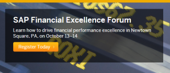 SAP Financial Forum Oct 2015