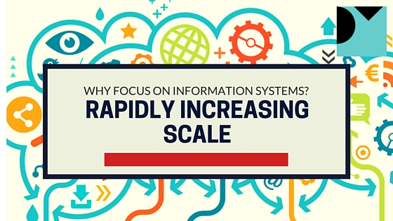 Why Focus On Information Systems? Rapidly Increasing Scale